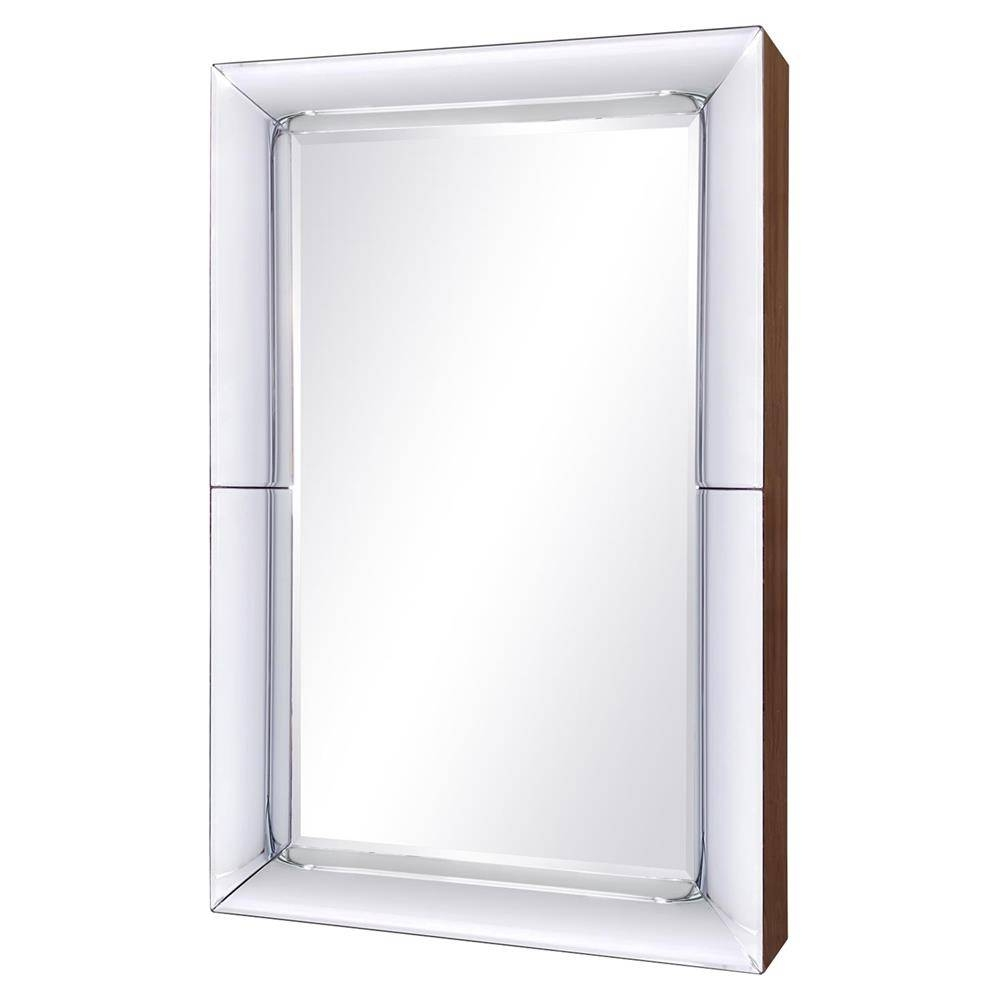 Dawn Modern Classic Pieced Concave Wall Mirror | Kathy Kuo Home Within Concave Wall Mirrors (View 8 of 15)