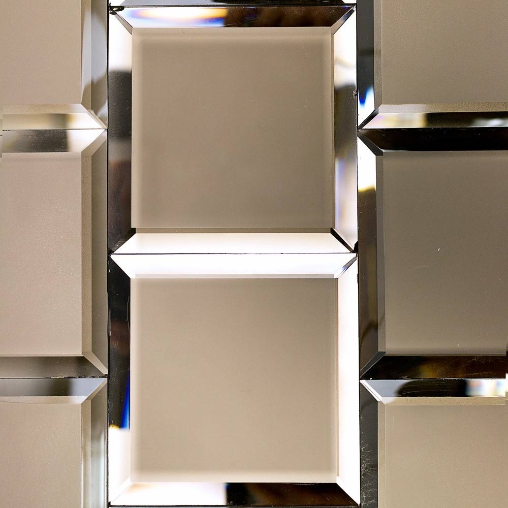 Decor: 12X12 Mirror Wall Tiles | Beveled Mirror Tiles | Hobby throughout Bevel Mirrors (Image 7 of 15)