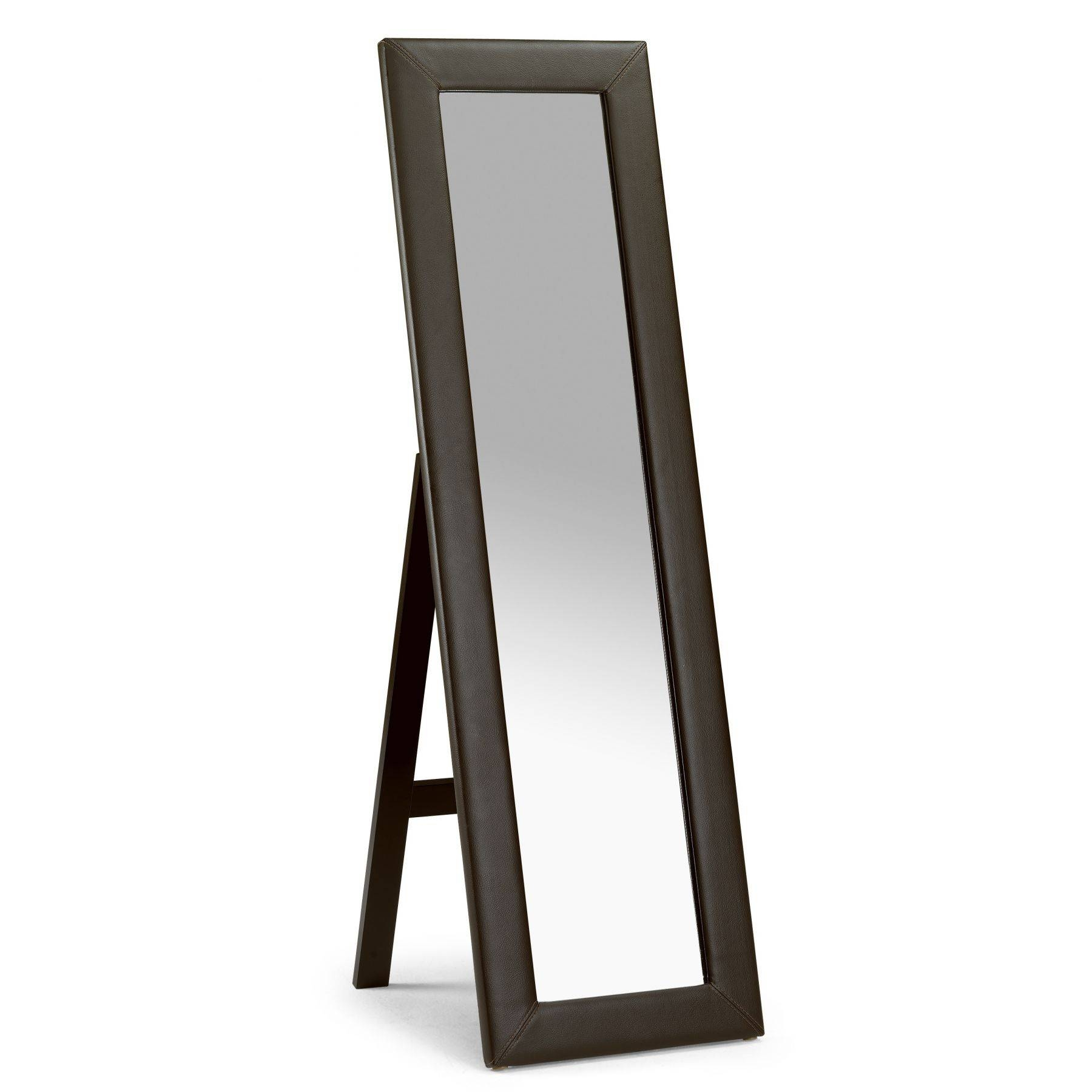 Decorating: Bassett Mirror Silhouette Cheval Mirror In Black For Within Black Free Standing Mirrors (View 3 of 15)