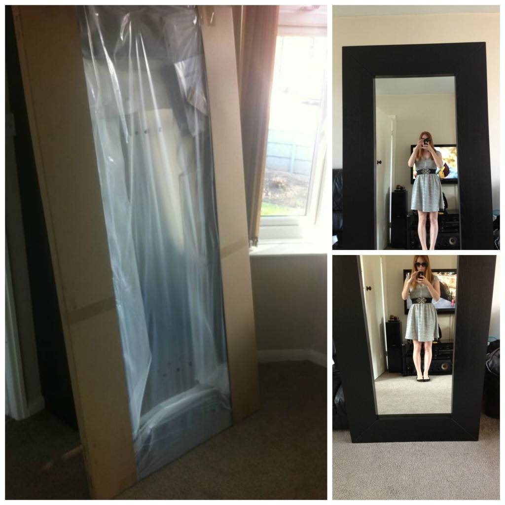 Decorations: Exciting Ikea Mirror Large For Your Home Decorating with Large Long Mirrors (Image 8 of 15)