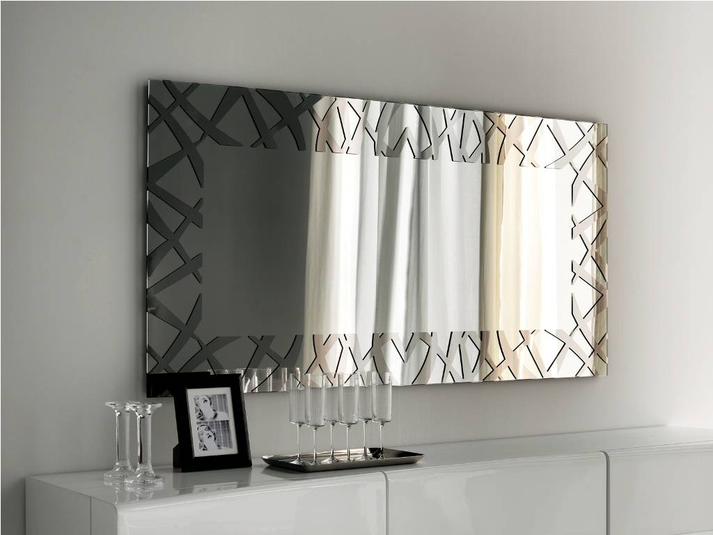Decorative Mirrors With Antique Mirror | Thinkvanity inside Modern Contemporary Wall Mirrors (Image 2 of 15)