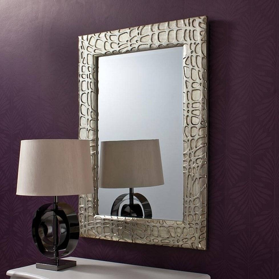 Designer Wall Mirror, Mirror Wall Panels Mirrors Wall Mirror with regard to Modern Contemporary Wall Mirrors (Image 5 of 15)