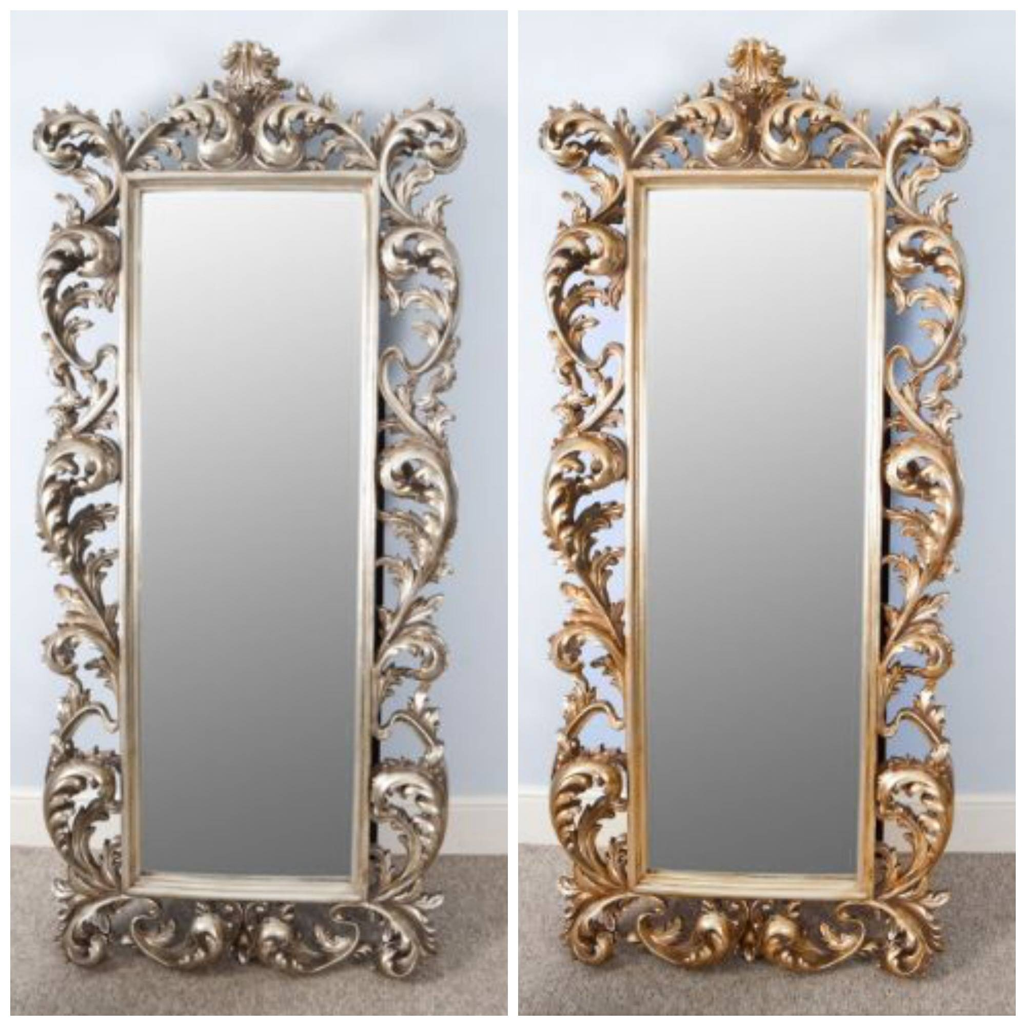 Download Decorative Gold Mirrors | Gen4Congress with regard to Big Gold Mirrors (Image 7 of 15)
