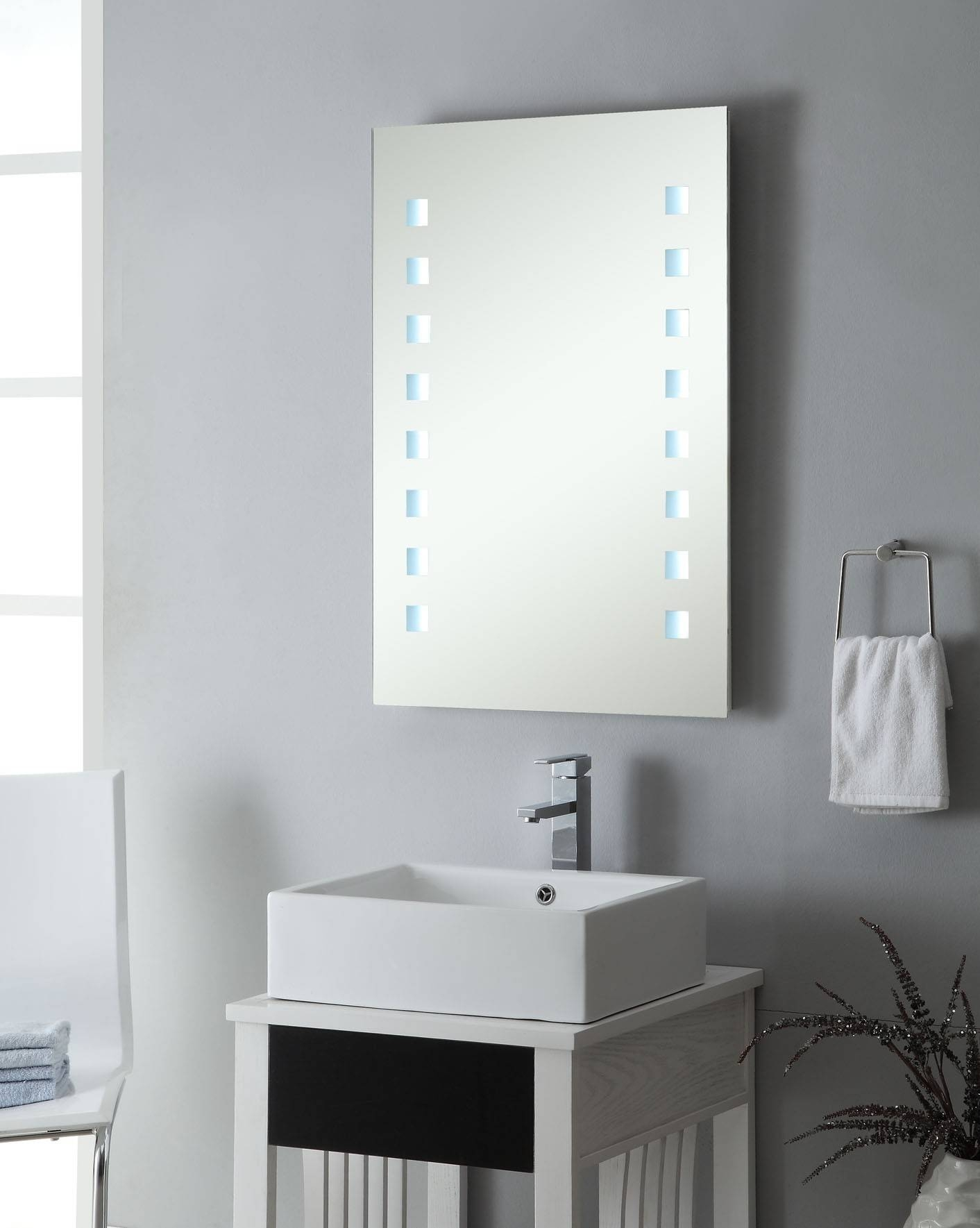 Download Designer Bathroom Mirrors | Gurdjieffouspensky in Modern Contemporary Mirrors (Image 6 of 15)