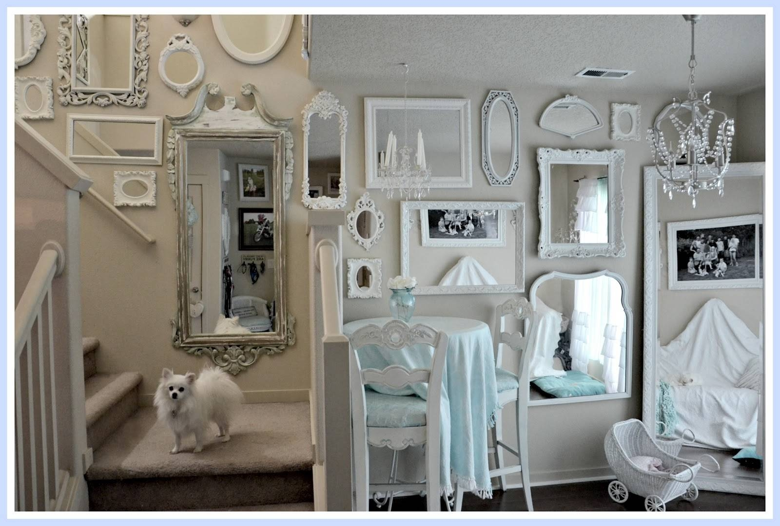 Download Wall Of Mirrors | Monstermathclub For Shabby Chic White Mirrors (View 4 of 15)