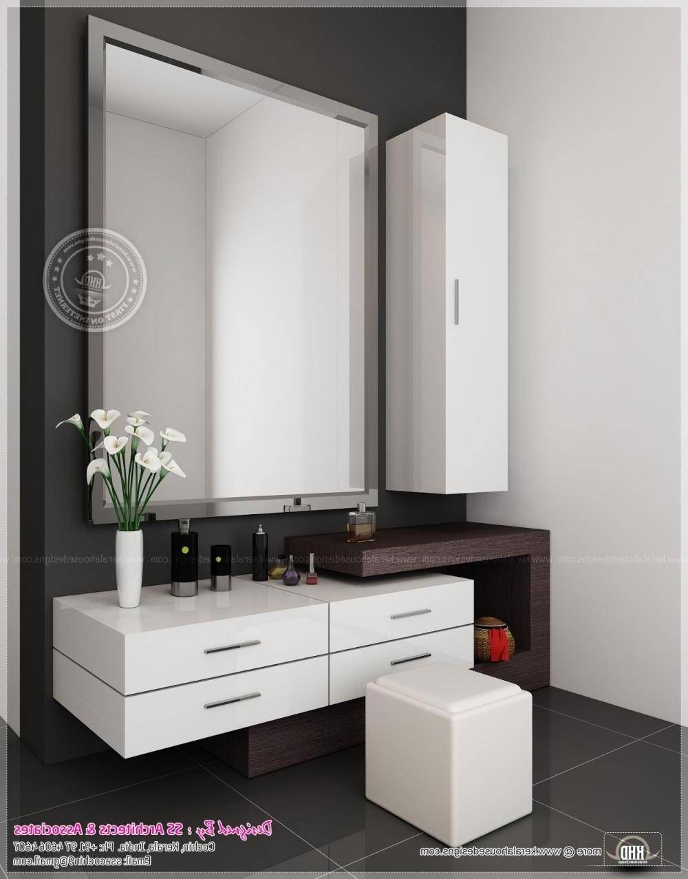 Dressing Table Designs With Long Mirror | Bedroom Design Ideas with regard to Long Dressing Mirrors (Image 6 of 15)