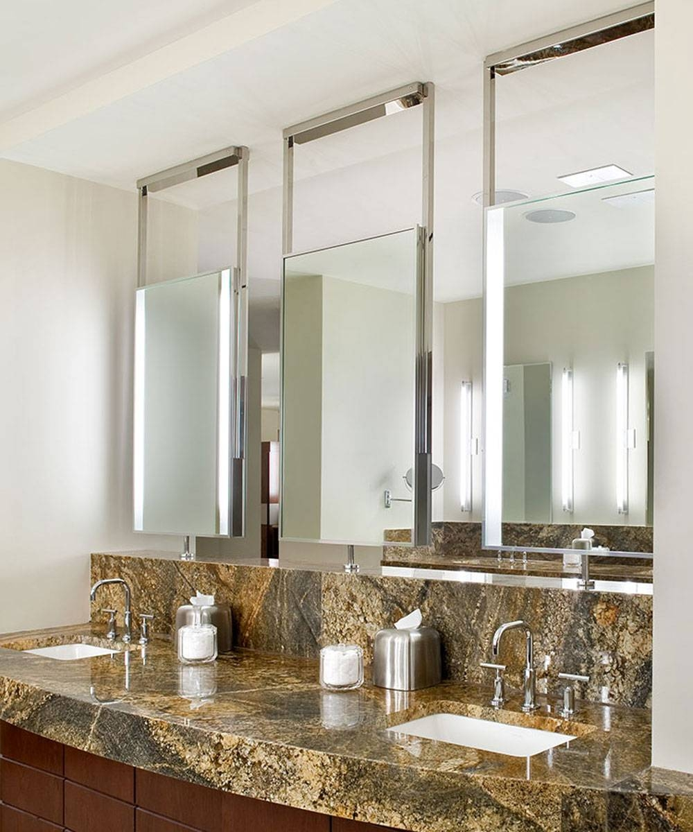 Element Lighted Mirror – A Backlit Mirror – Ceiling Mounted With Ceiling Light Mirrors (View 9 of 15)