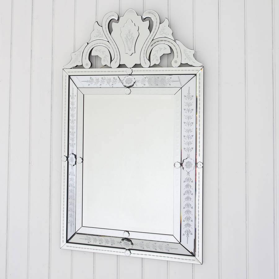 Featured Photo of Venetian Style Mirrors