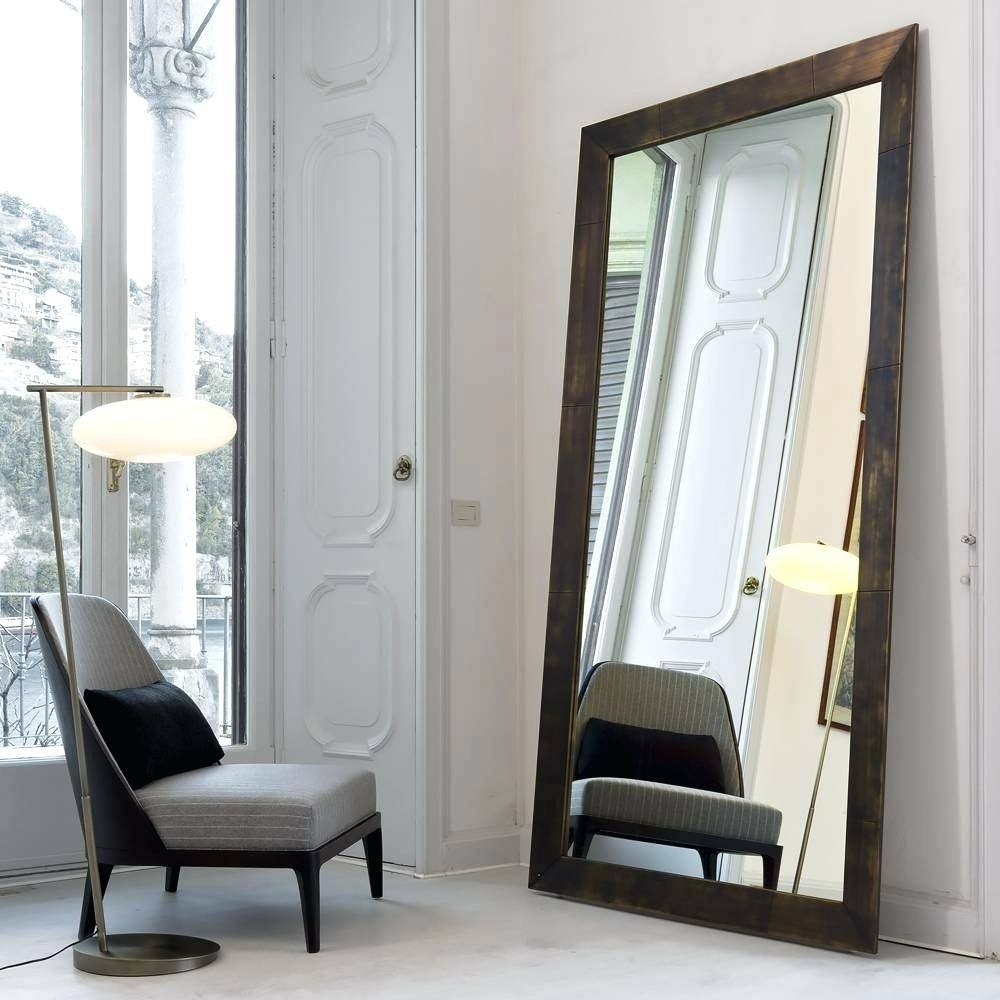 Extra Large Floor Standing Mirrors Oversized Free Oval Full Length with regard to Extra Large Floor Standing Mirrors (Image 4 of 15)