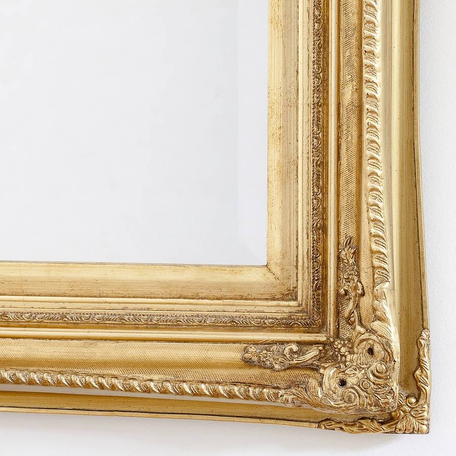 Finely Ornate Gold Mirrordecorative Mirrors Online In Gold Wall Mirrors (View 3 of 15)