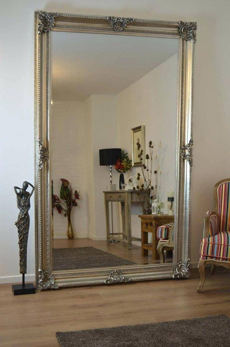 Floor Mirror Large Mirrors Extra Mosaic Vanity Ornate Standing Big Inside Ornate Floor Mirrors (View 6 of 15)