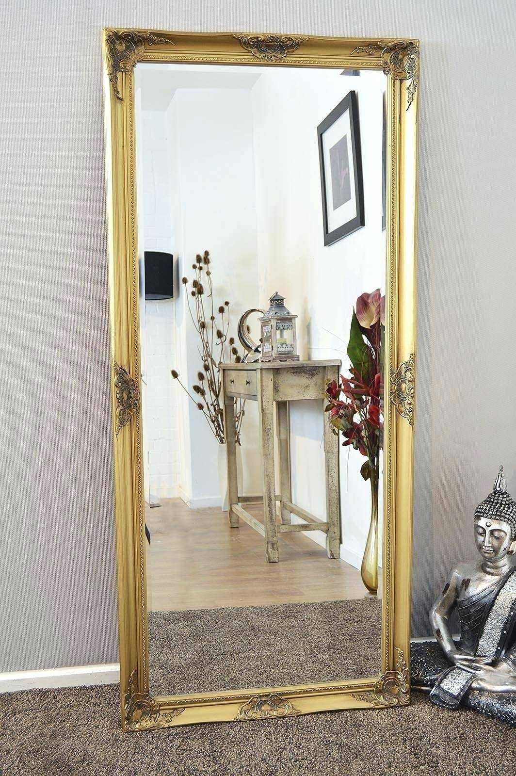 Floor Mirror Large Mirrors Extra Mosaic Vanity Ornate Standing Big throughout Extra Large Floor Standing Mirrors (Image 5 of 15)