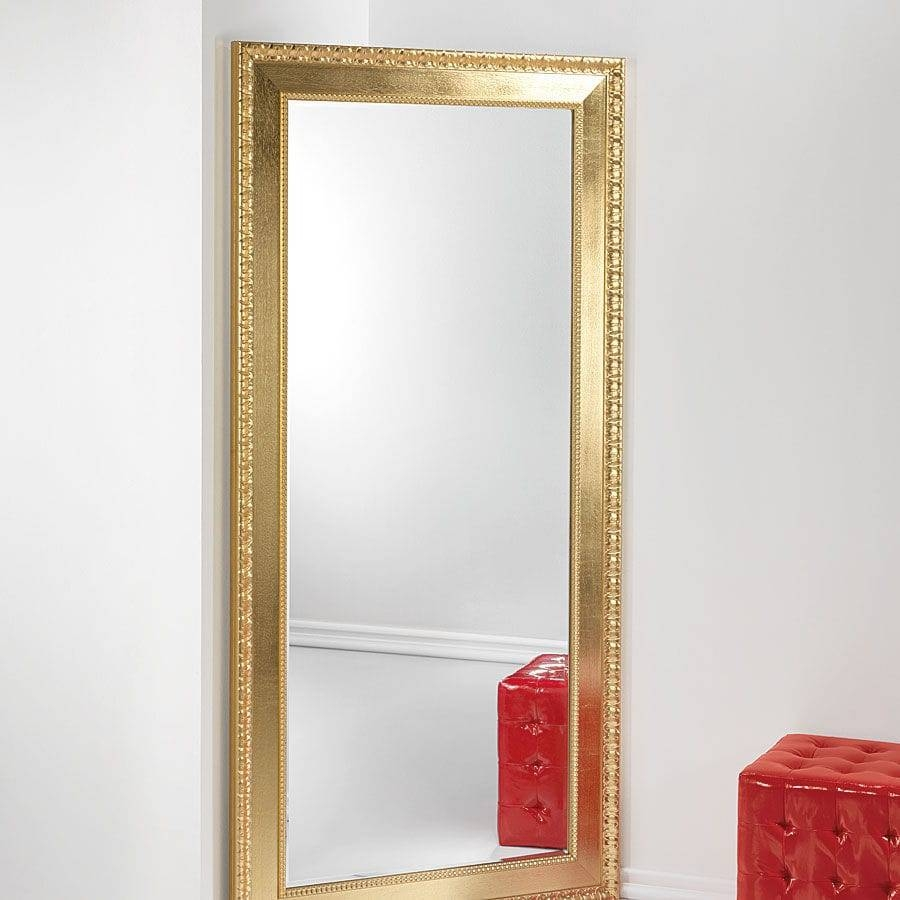 Free-Standing Mirror / Contemporary / Rectangular / Solid Wood with Modern Free Standing Mirrors (Image 4 of 15)