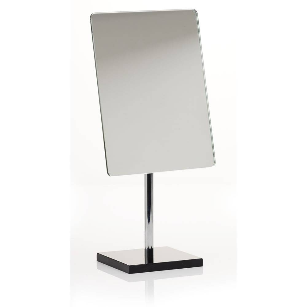 Freestanding Bathroom Mirrors, Square Black Bathroom Mirrors in Black Free Standing Mirrors (Image 6 of 15)