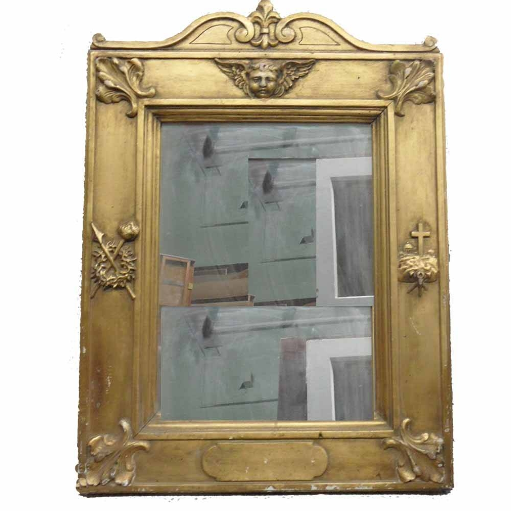 French Antique Mirror – Toronto Antique Vintage Shop In French Antique Mirrors (View 11 of 15)
