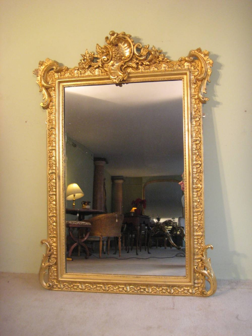 Featured Photo of French Gilt Mirrors