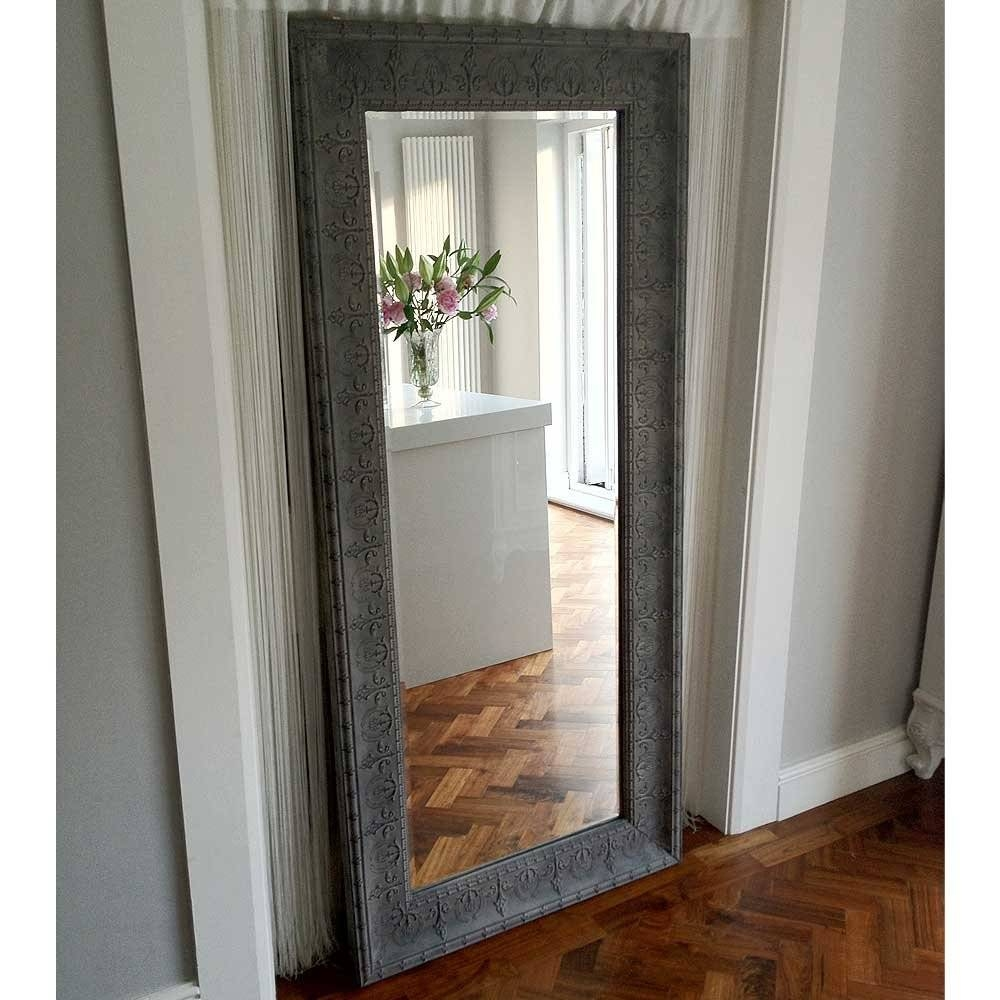 Full Length Wall Mounted Bedroom Mirror Beveled Full Length Wall For Beveled Full Length Mirrors (View 5 of 15)
