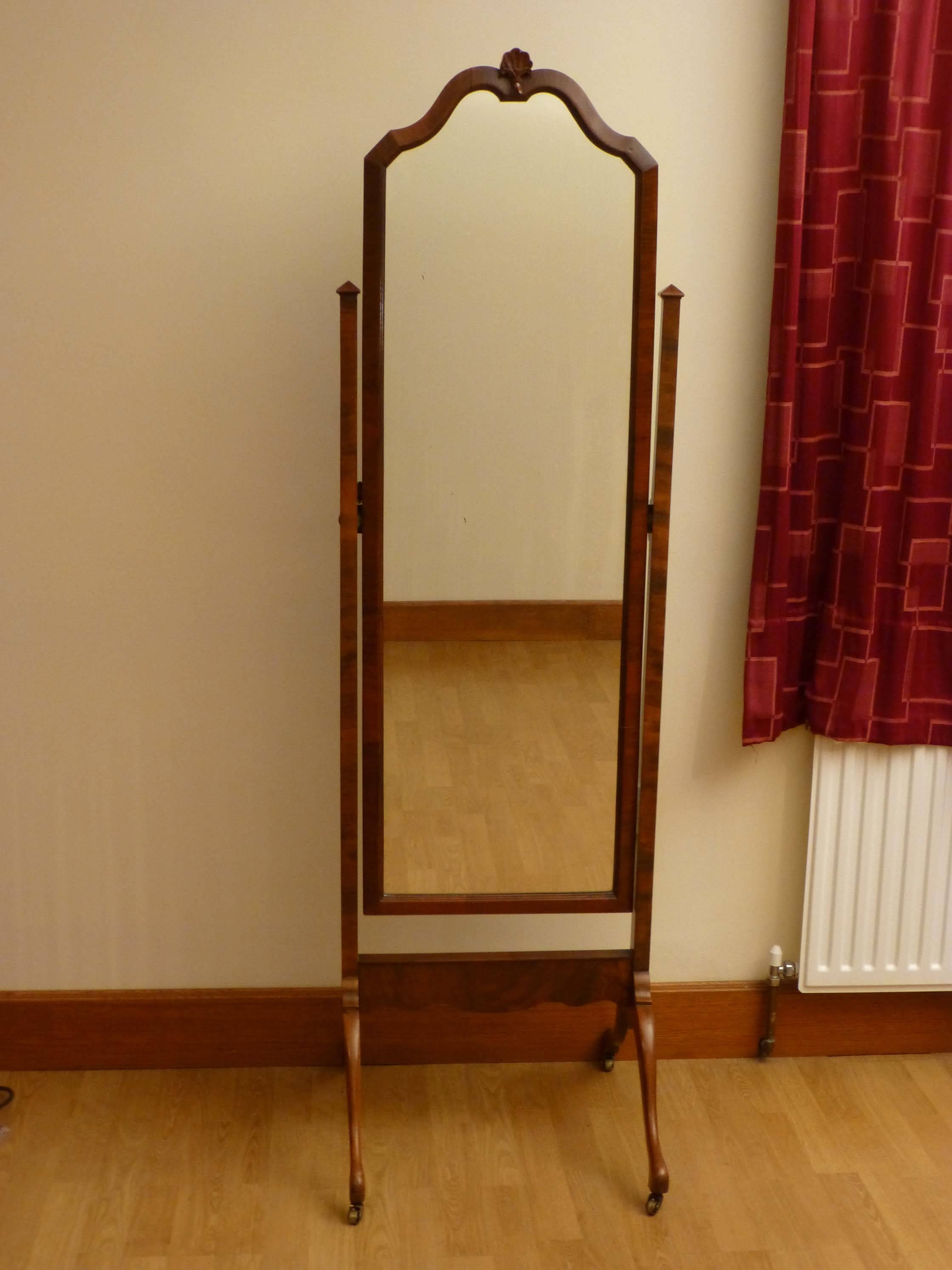 Furniture: Charming Cheval Mirror Jewelry Armoire Ideas pertaining to Standing Dressing Mirrors (Image 8 of 15)