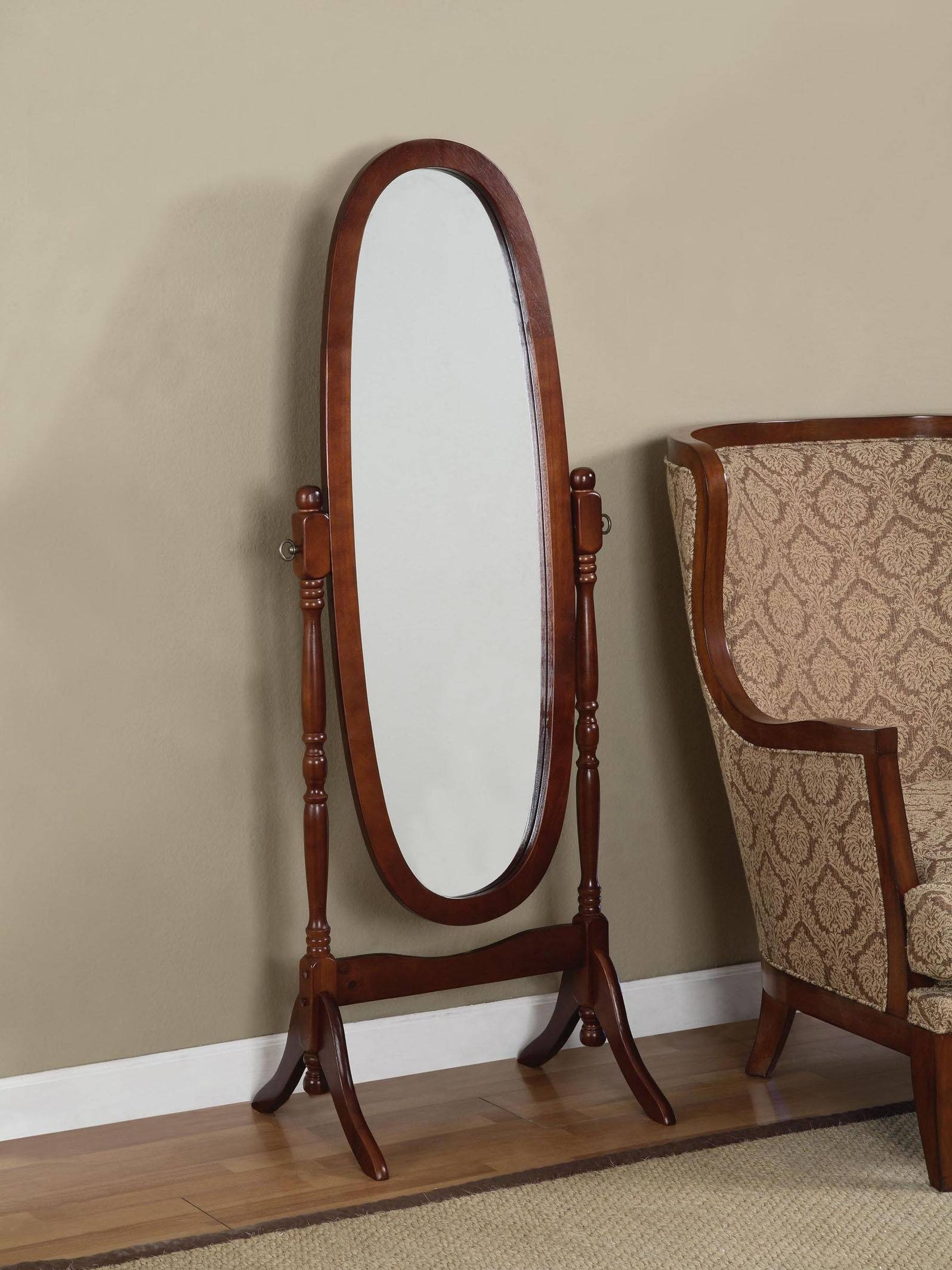 Furniture: Cheval Mirror | Standing Jewelry Mirror | Standing Mirrors Intended For Cheval Free Standing Mirrors (View 3 of 15)