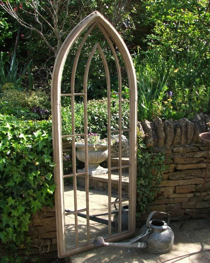 Garden Mirror with regard to Gothic Garden Mirrors (Image 8 of 15)