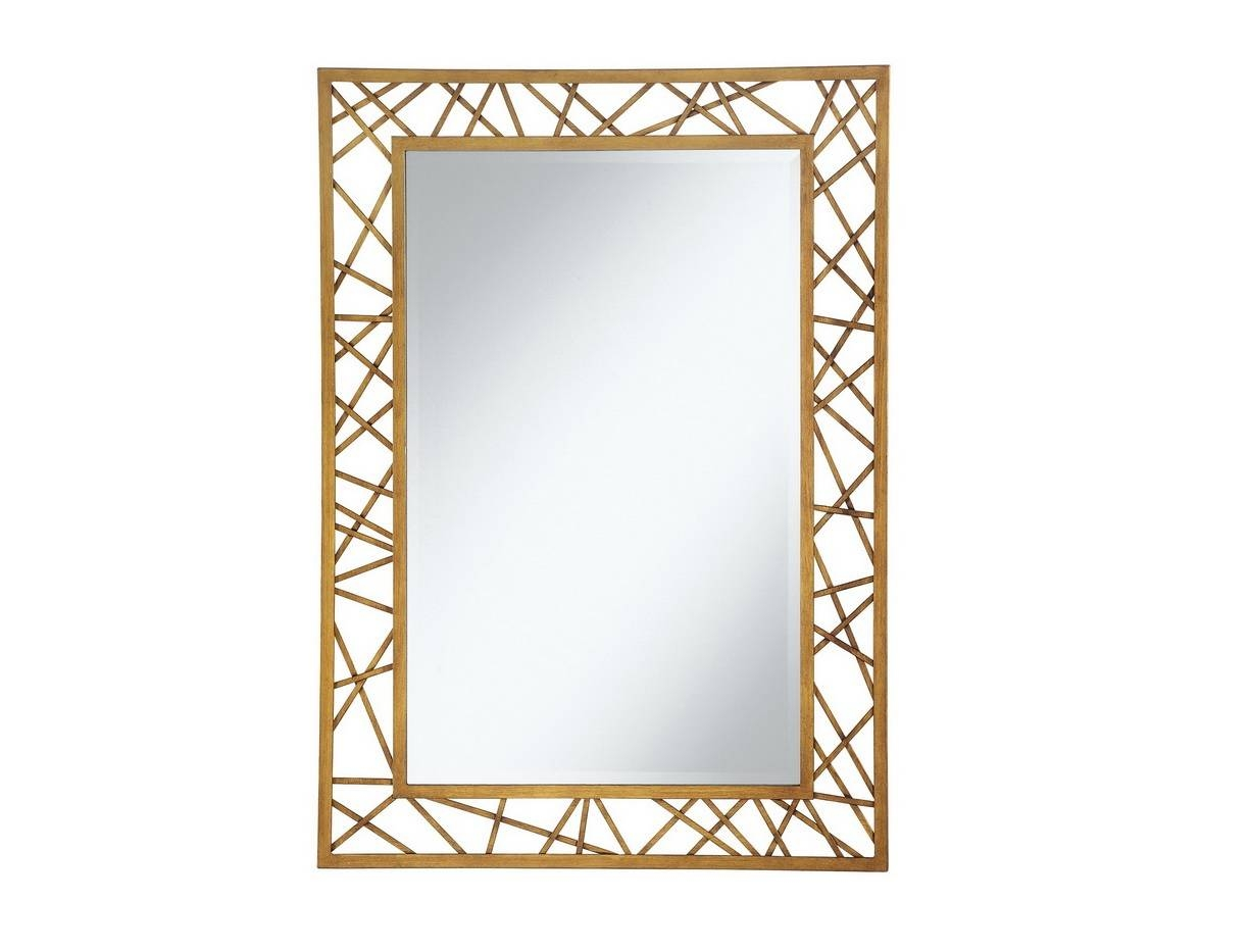 Geometric Gold Wall Mirror | Las Vegas Furniture Store | Modern In Gold Wall Mirrors (View 10 of 15)