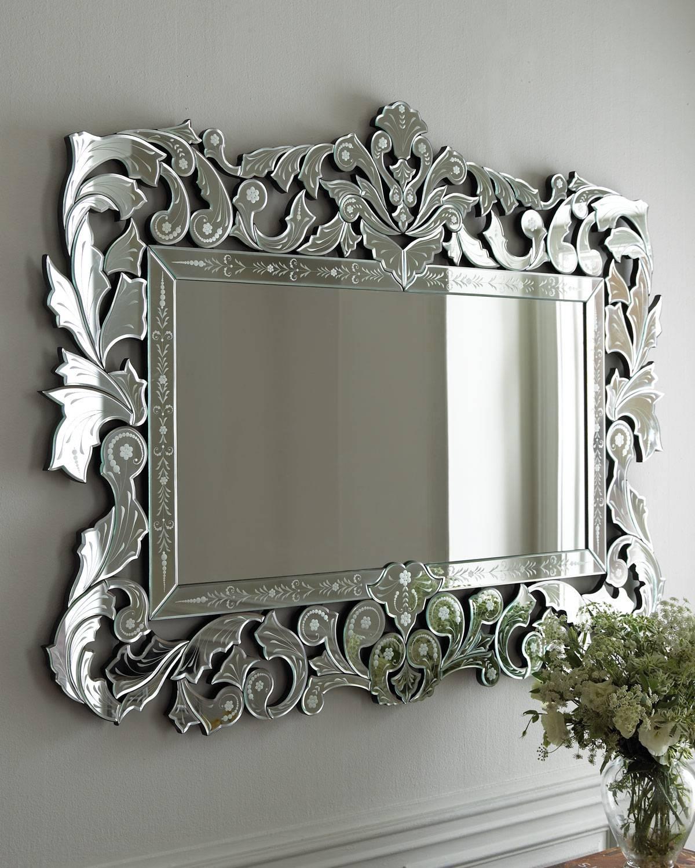 Gorgeous Venetian Mirrored Wall Shelf Mr Venetian Bathroom Wall In Venetian Style Mirrors (View 11 of 15)