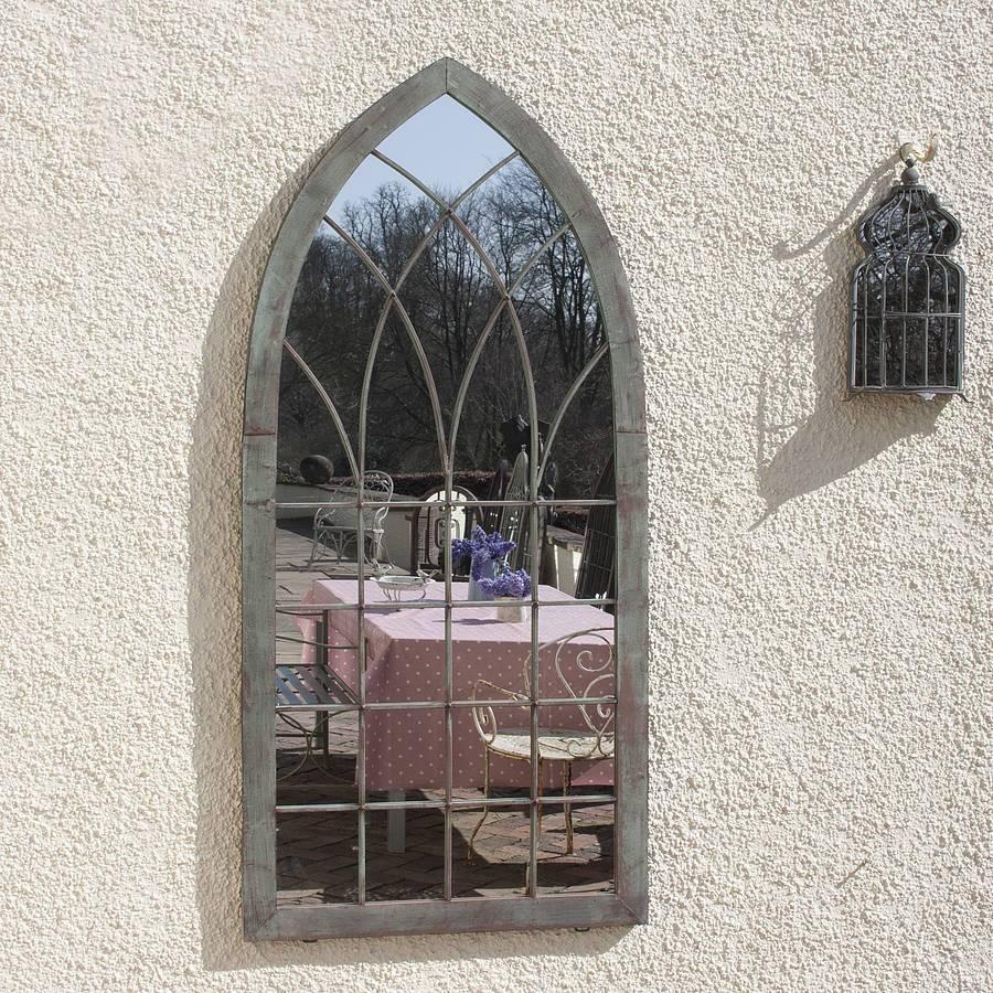 Gothic Verdegris Garden Mirrordecorative Mirrors Online in Gothic Garden Mirrors (Image 10 of 15)