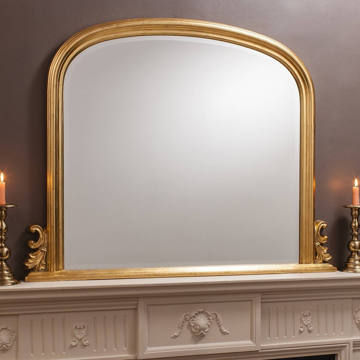 Grace Overmantle Mirror From £249 – Luxury Overmantle Mirrors With Over Mantel Mirrors (View 14 of 15)