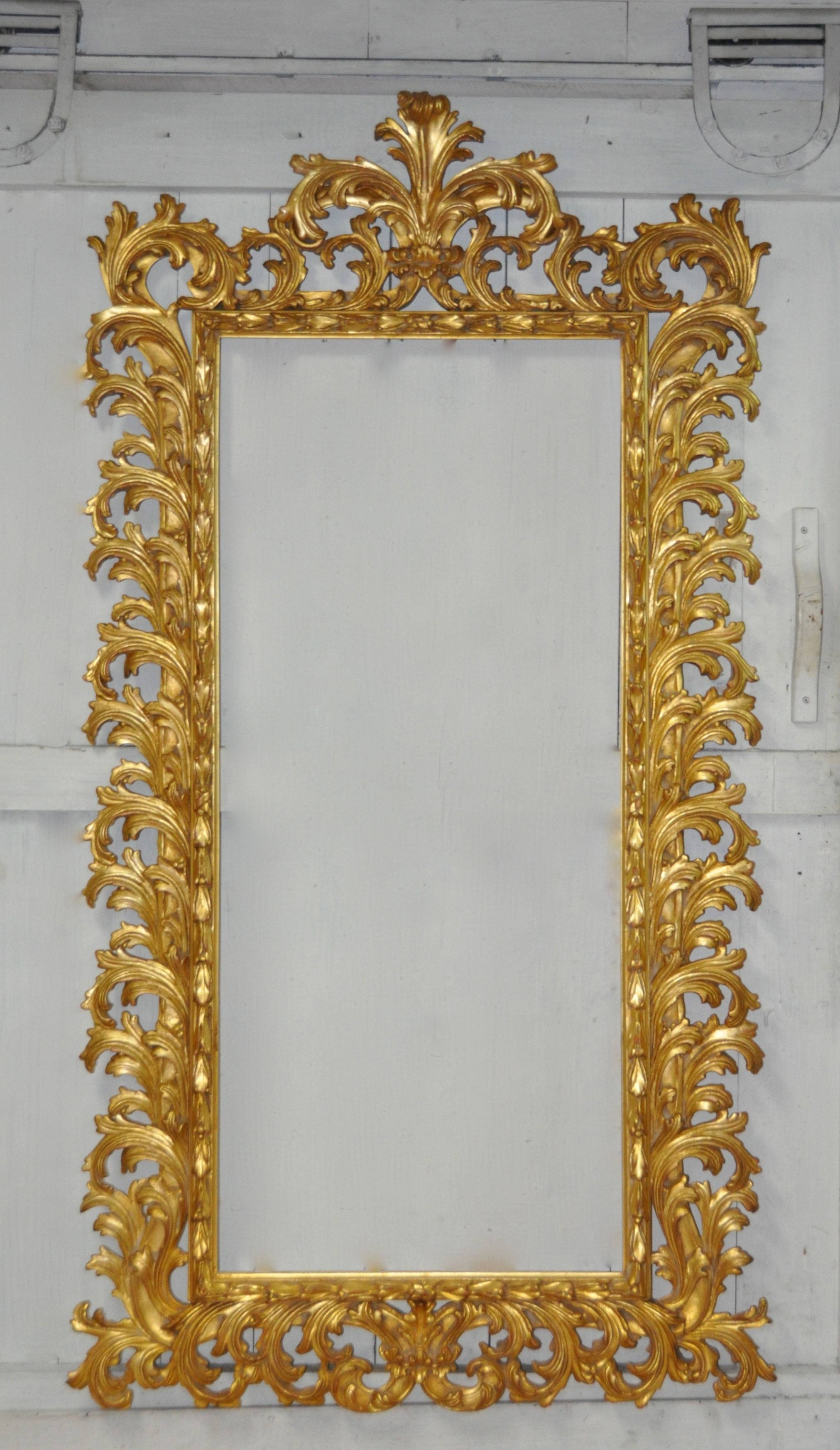 Grand Baroque Ii Mirror | Carvers' Guild with Baroque Gold Mirrors (Image 8 of 15)