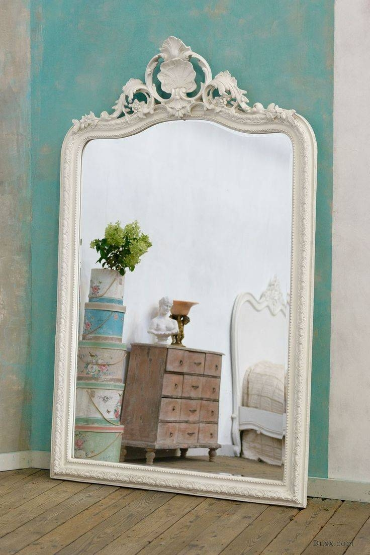 Gratify Tags : Square Wall Mirror White French Mirror Arched with Large White French Mirrors (Image 2 of 15)