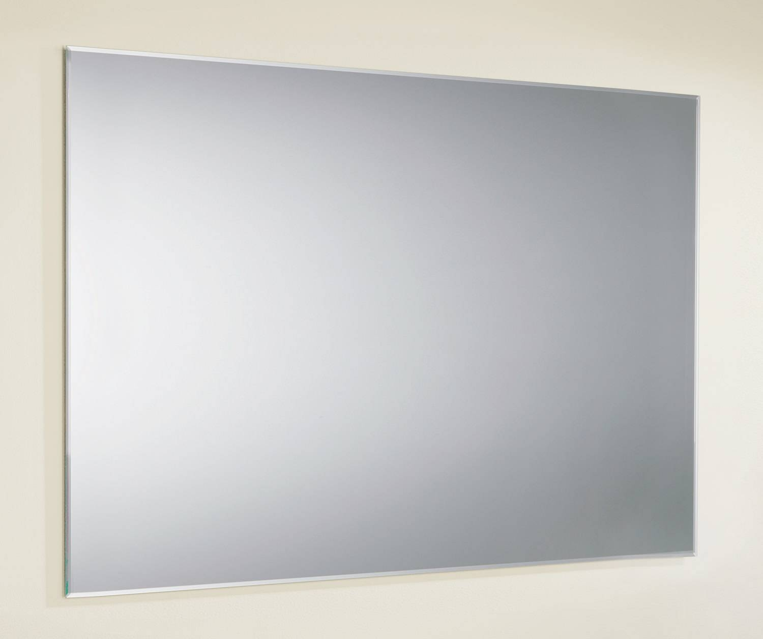 Hib Jackson Rectangular Bevelled Edge Mirror 800X600Mm | 76800000 for Chamfered Edge Mirrors (Image 5 of 15)
