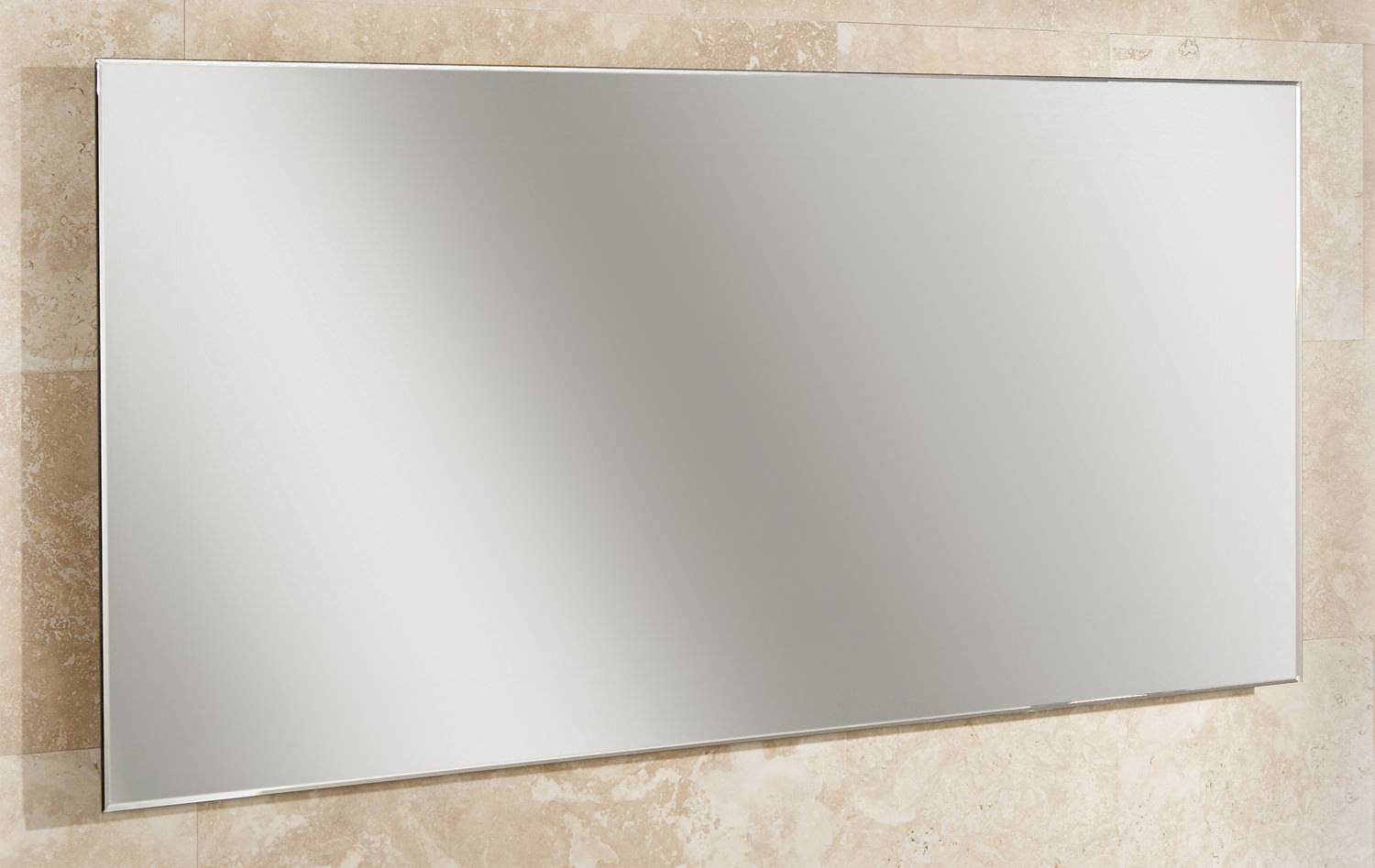 Hib Willow Landscape Bevelled Edge Mirror 1200 X 600Mm | 77305000 Within Bevelled Edge Mirrors (View 11 of 15)