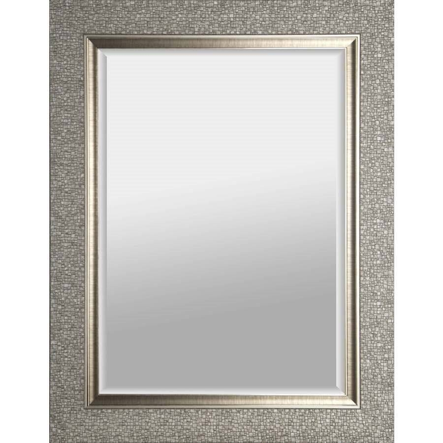 Hobbitholeco 27 In X 35 In Silver Square Framed Wall Mirror Inside Mirrors (View 15 of 15)