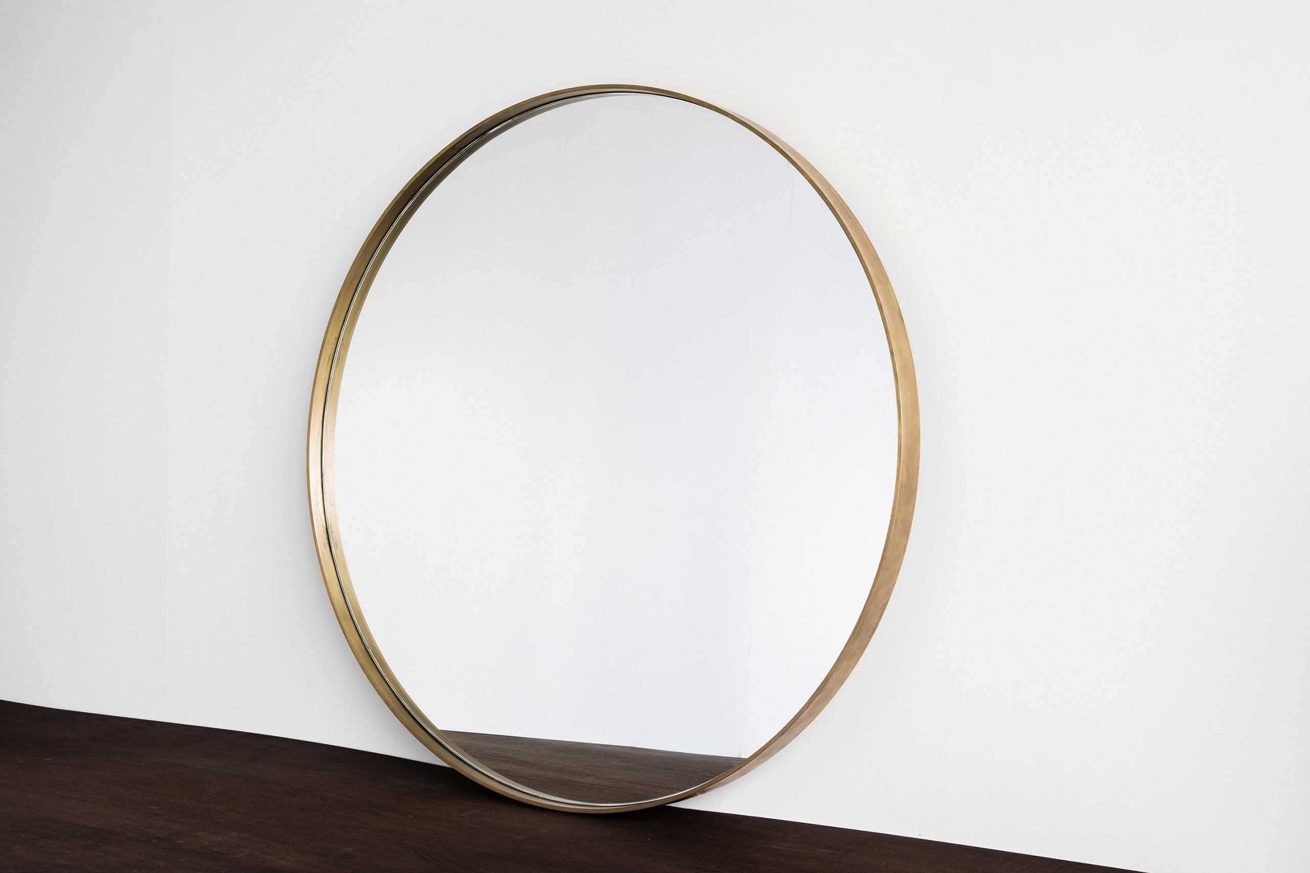 Home Industry | Furniture Designed & Handcrafted In New Zealand. ©2016 regarding Brass Mirrors (Image 10 of 15)