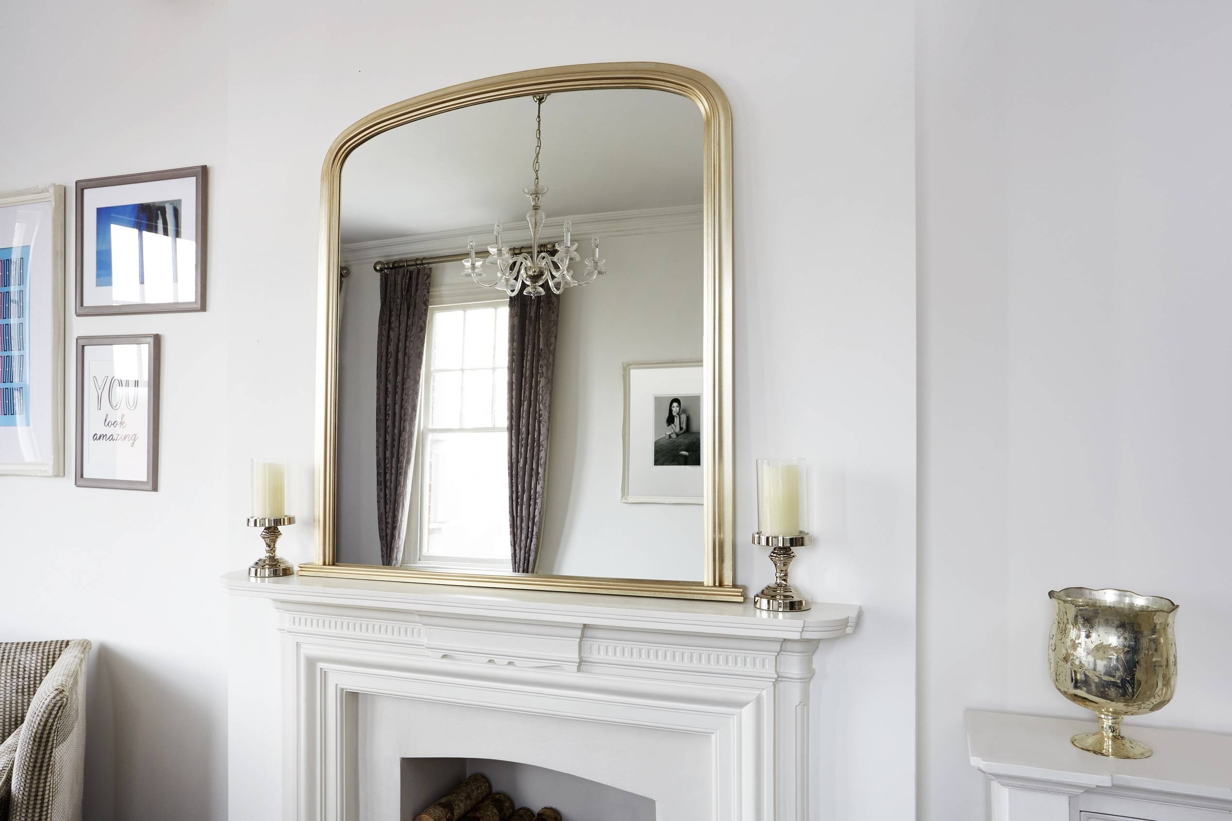 How To Choose The Best Mirror For Your Space With Mantelpiece Mirrors (View 9 of 15)
