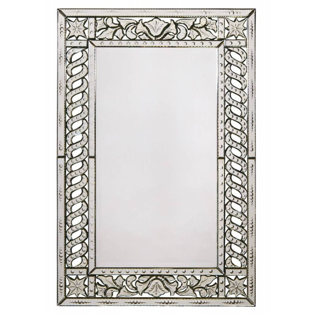 Ideas: Decorative Accent With Rectangular Venetian Mirror For Wall With Rectangular Venetian Mirrors (View 10 of 15)