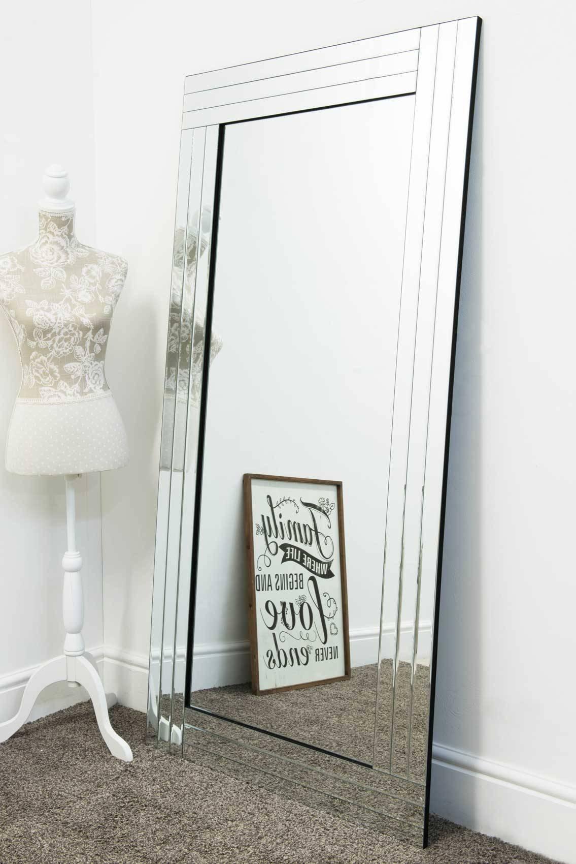Lapford Full Length Venetian Mirror 174x85cm – Soraya Interiors Uk With Regard To Venetian Full Length Mirrors (View 12 of 15)