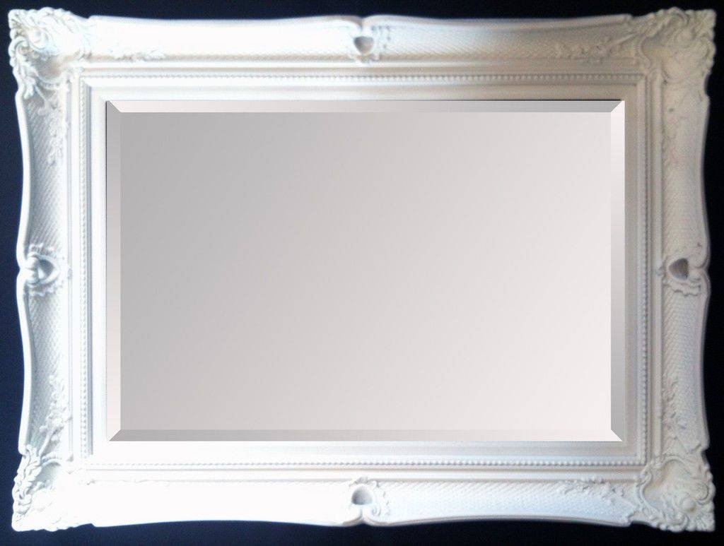 Large Black Decorative Ornate Mirror - Other Frame Colours Available with Large Black Ornate Mirrors (Image 3 of 15)