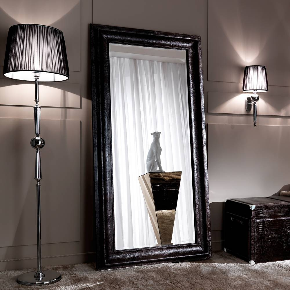 Large Floor & Dressing Mirrors – Exclusive High End Luxury Designs Pertaining To Floor Dressing Mirrors (View 8 of 15)