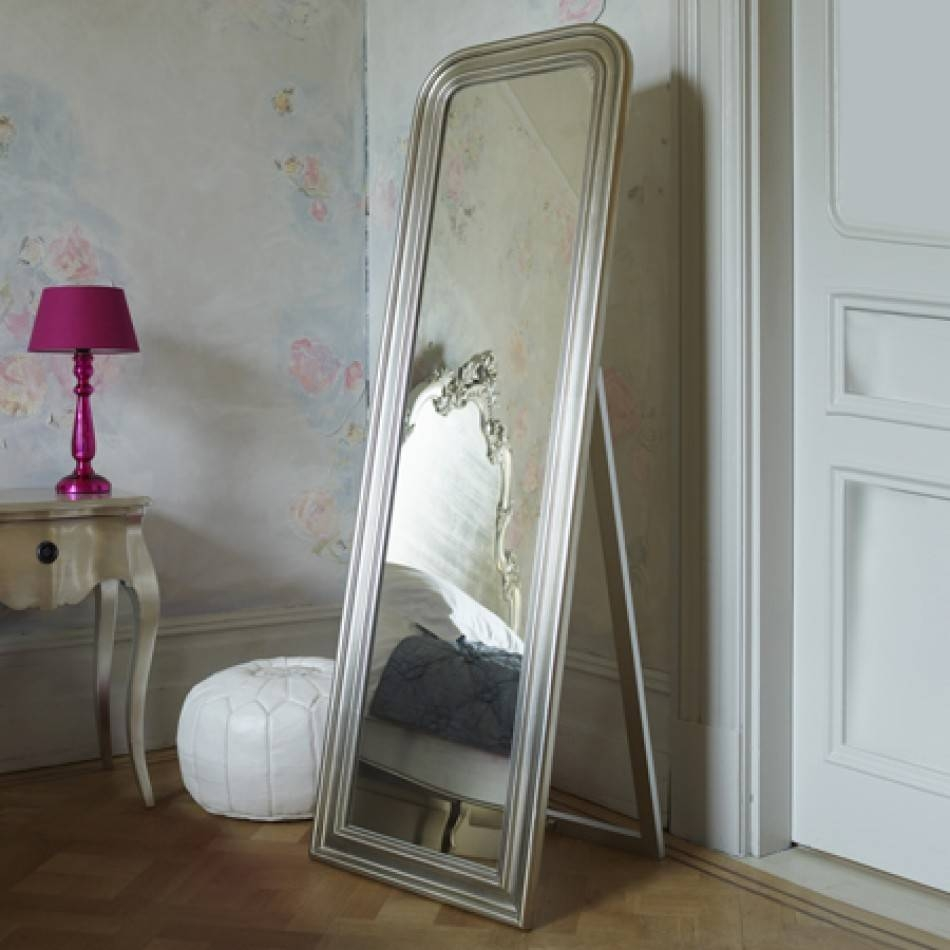 Large Framed Mirrors For Bathroom Free Standing Floor Mirror Tall Pertaining To