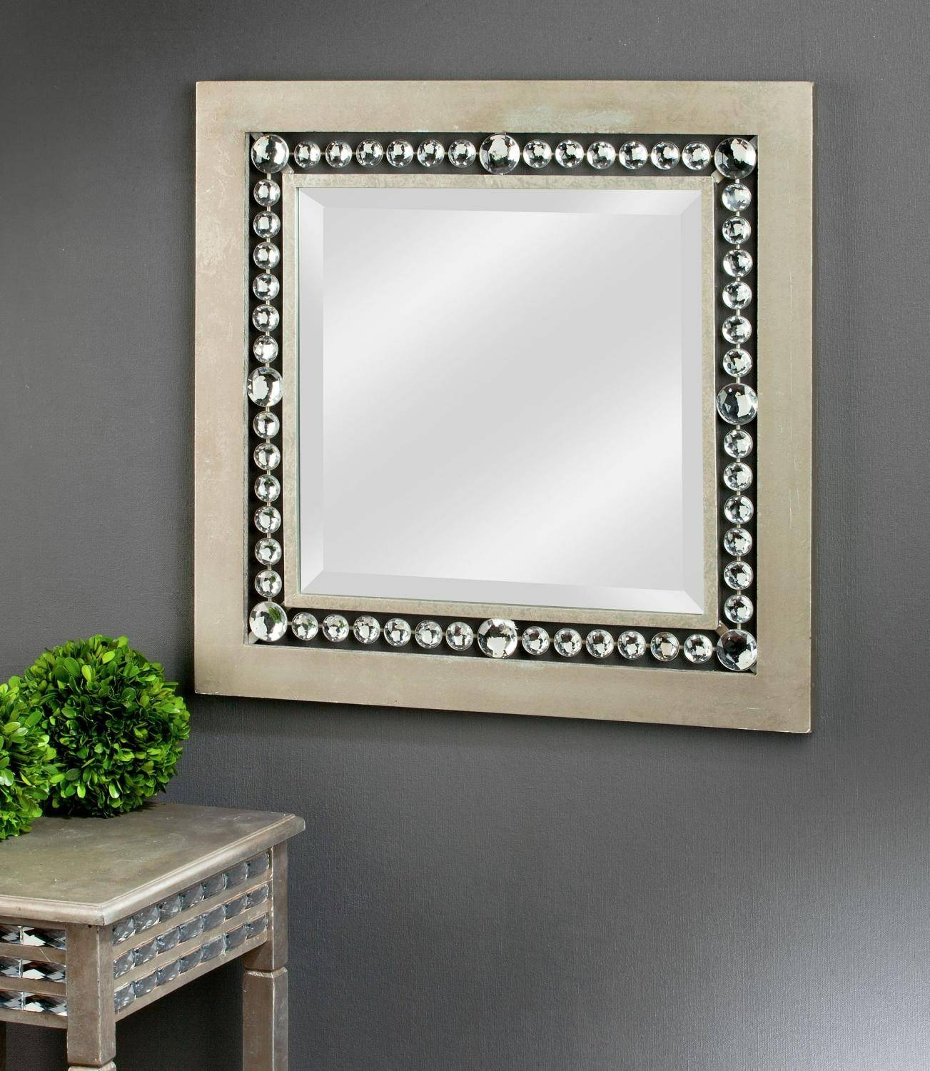 Large Framed Square Mirror – Tripar International, Inc (View 7 of 15)