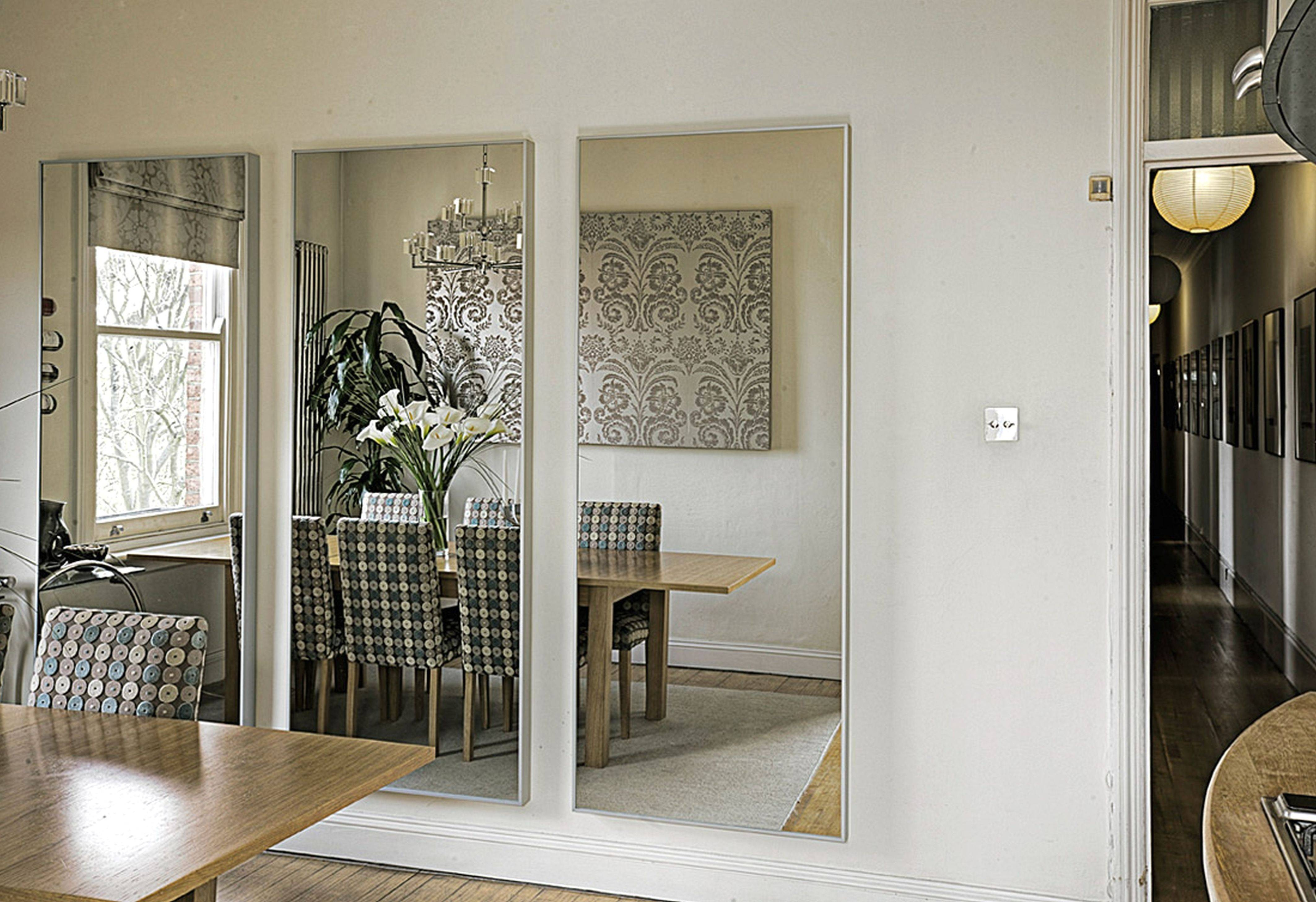 Large Rectangular Living Room Mirrors | Centerfieldbar Pertaining To Triple Wall Mirrors (View 4 of 15)
