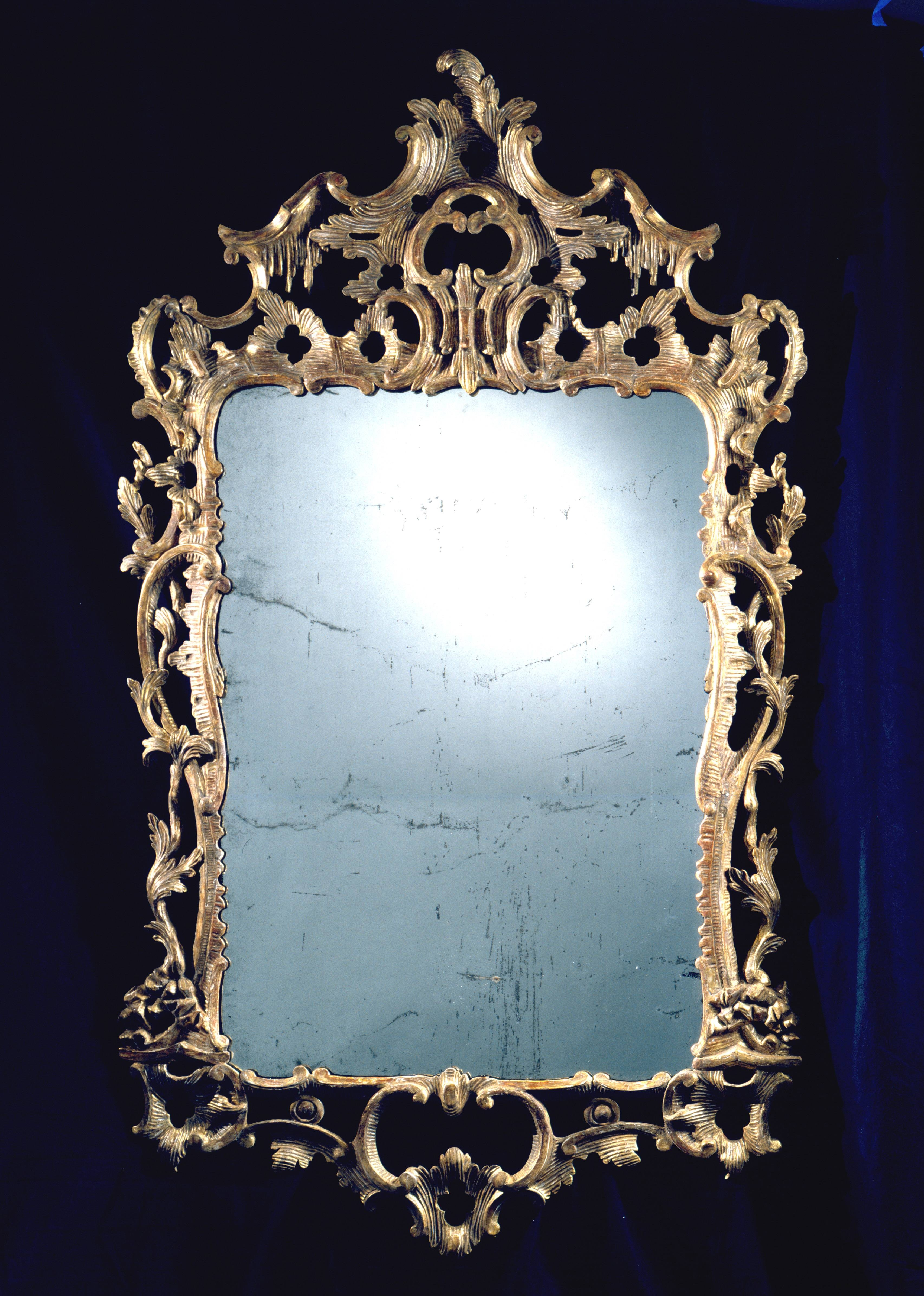 Large Rococo Look Glass | Clinton Howell with Large Rococo Mirrors (Image 6 of 15)