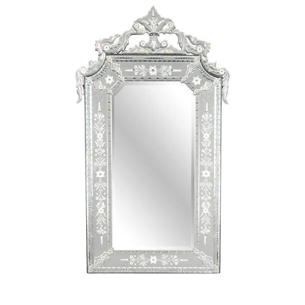 Large Venetian Mirror At 1stdibs Throughout Rectangular Venetian Mirrors (View 11 of 15)