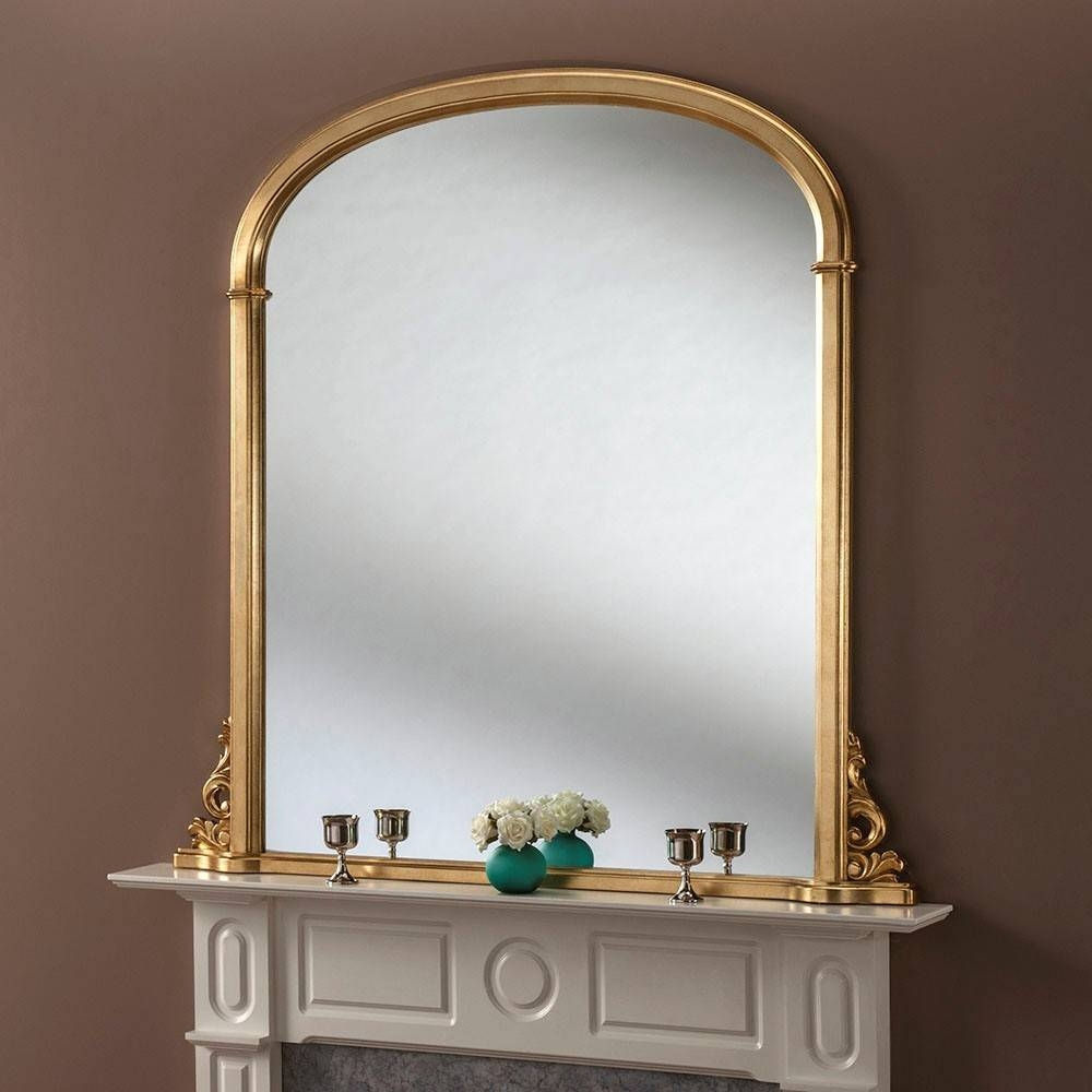 Lily Ornate Overmantle Mirror From £289 – Luxury Overmantle In Over Mantel Mirrors (View 9 of 15)