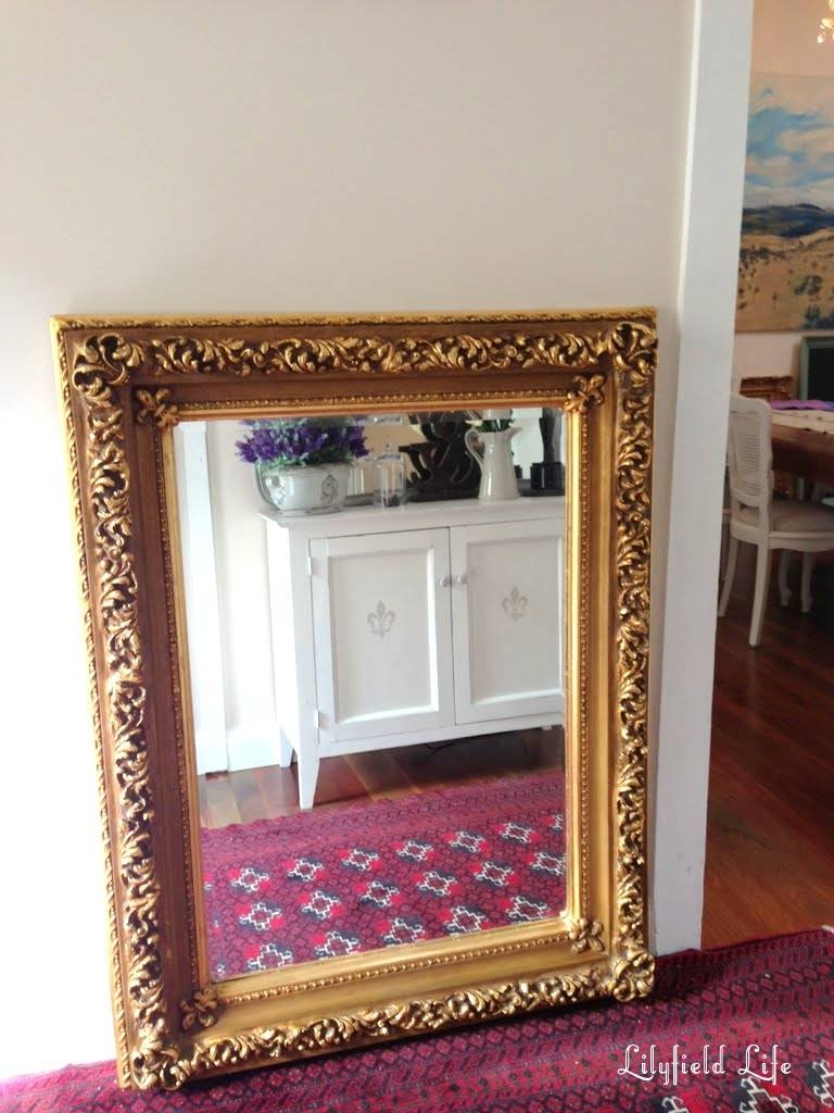 Lilyfield Life: Everyone Has A Thing For Gold Mirrors within Big Gold Mirrors (Image 8 of 15)