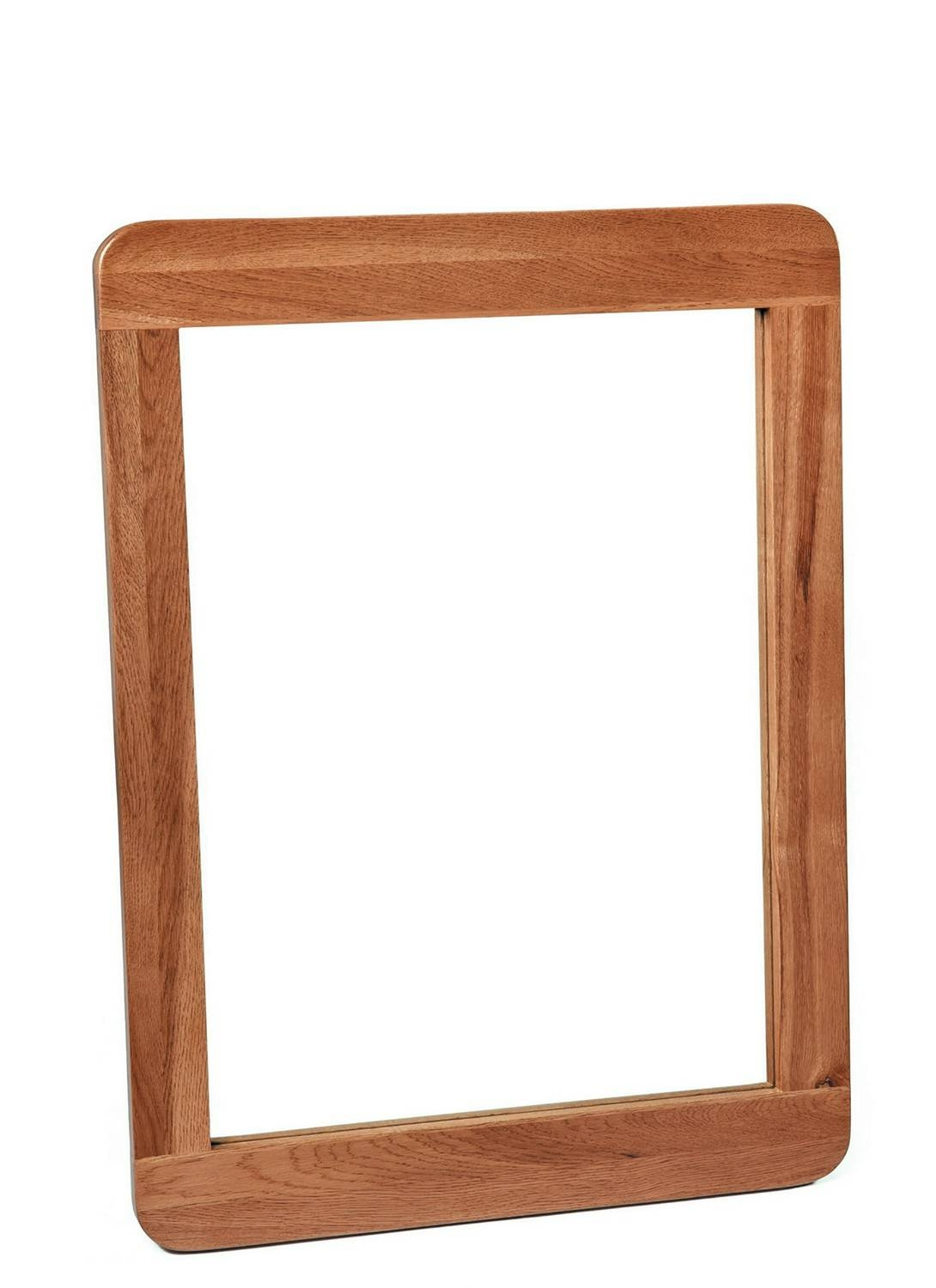 London Dark Oak Wall Mirror - Wall Mirrors - Living Room | Hallowood intended for Oak Wall Mirrors (Image 5 of 15)
