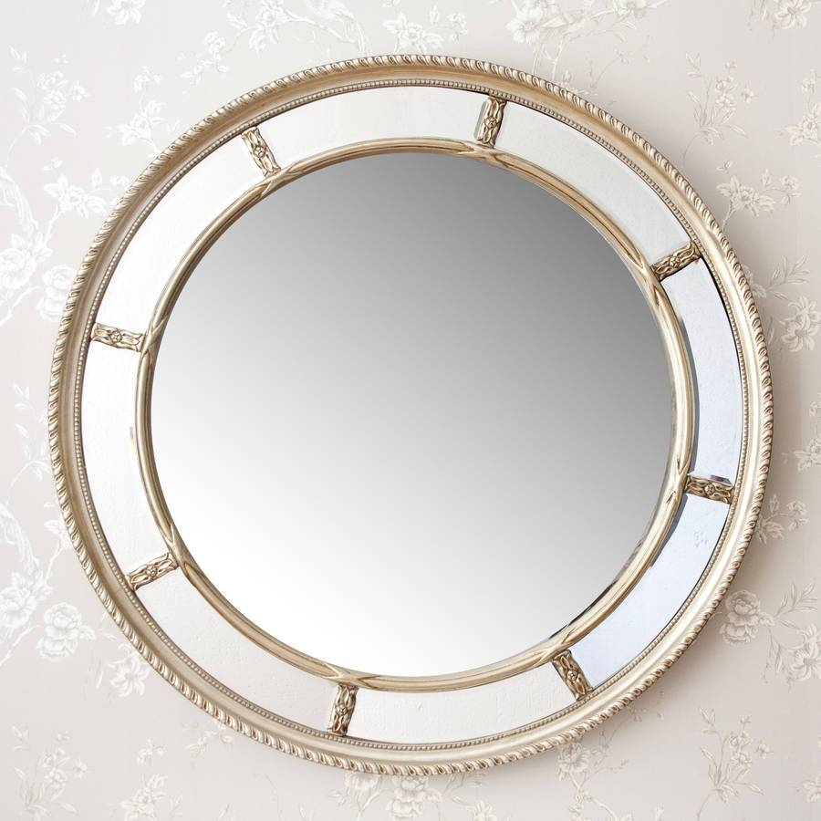 Lucia Round Decorative Mirrordecorative Mirrors Online with Decorative Round Mirrors (Image 9 of 15)