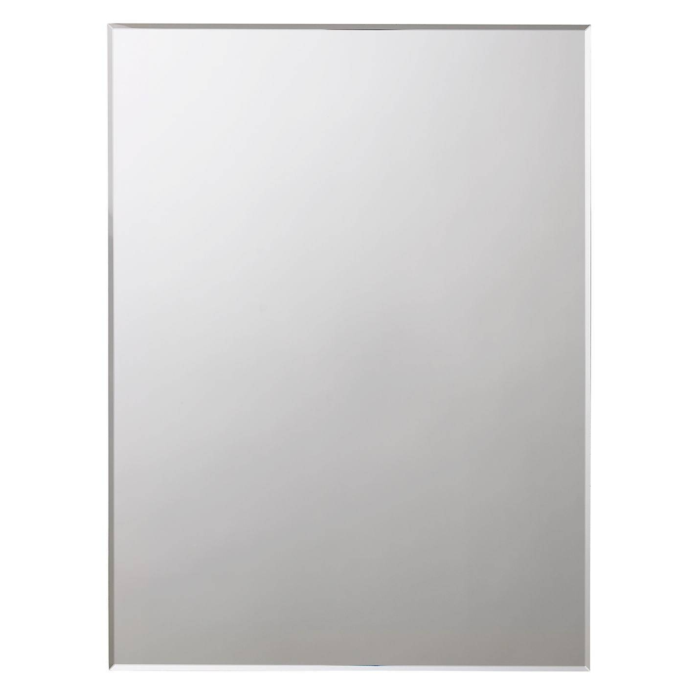 Marvelous Buy John Lewis Bevelled Edge Bathroom Mirror John Lewis intended for Bevelled Edge Bathroom Mirrors (Image 10 of 15)