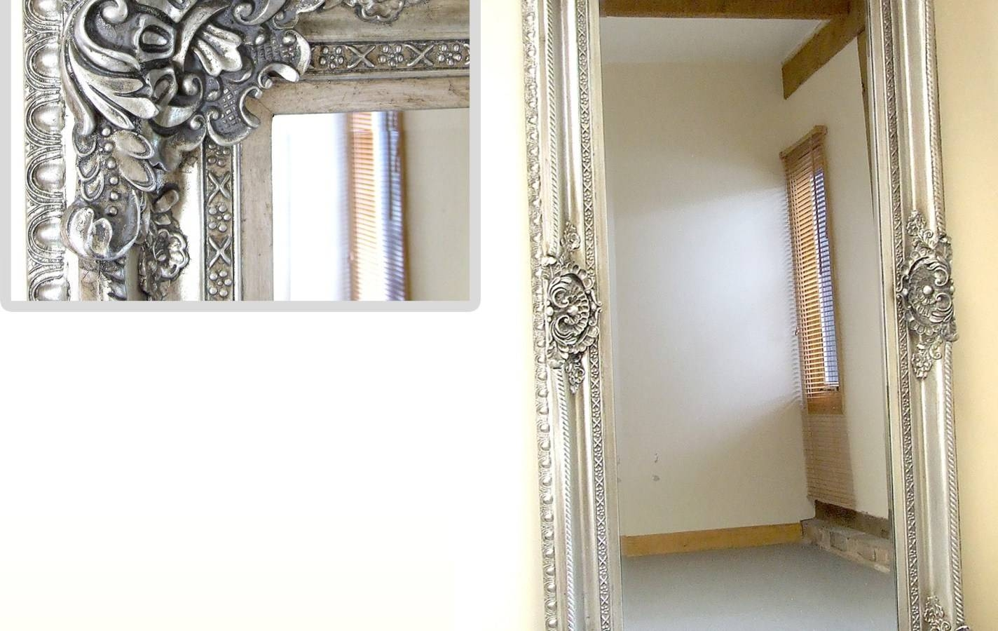 Mirror : Amazing Full Length Ornate Mirror Must Find A Fabulous for Full Length Ornate Mirrors (Image 8 of 15)